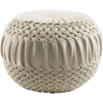 Alana Pouf - 3 Color Options