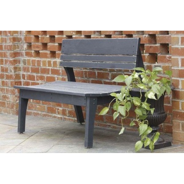 Behren's Collection-2 Seat Bench w/Back