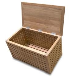 Rhodes Teak Wood Storage Bench