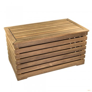 Andros Teak Wood Storage Bench