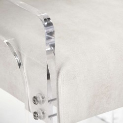 ... Ariston Acrylic Arm Chair