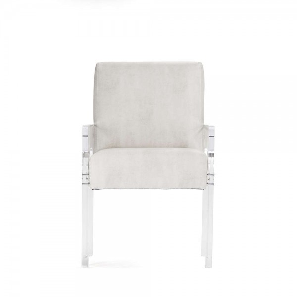 Ariston Acrylic Arm Chair