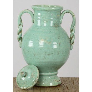 Pottery Accent Jar