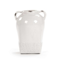 White Pottery Jar (6768L)