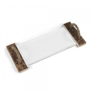 Mark Acrylic Serving Board