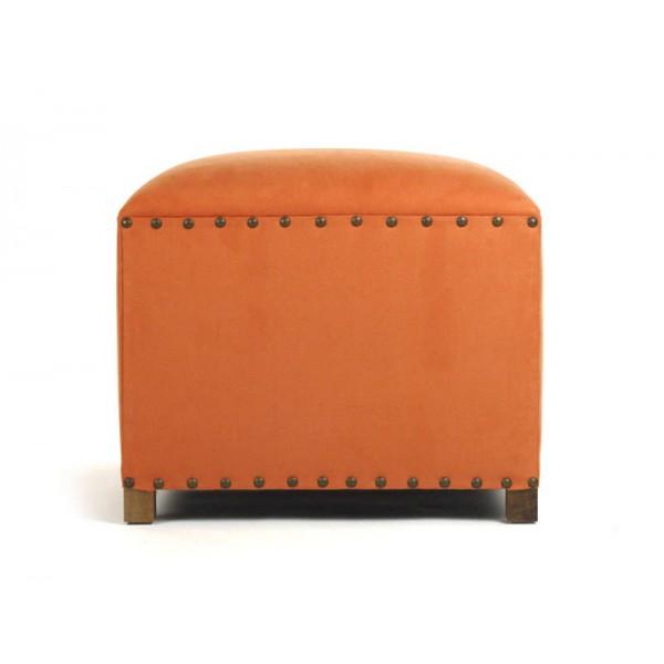 Orange Cube Stool
