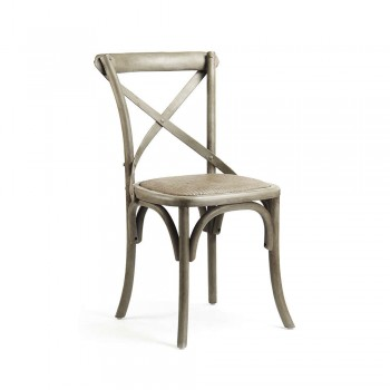 Parisienne Cafe Chair (Raw Umber)
