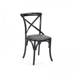 Parisienne Cafe Chair (Black)