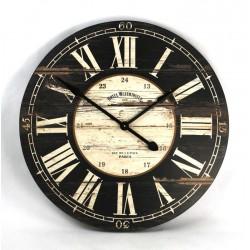 Wooden Clock-Black
