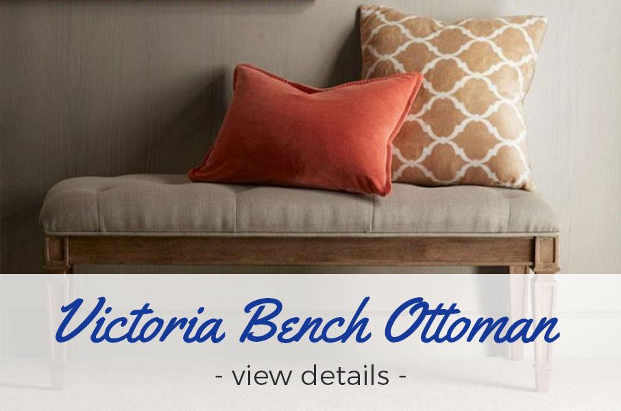 Victoria Bench Ottoman - view details